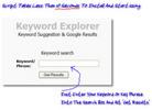 Thumbnail Keyword Explorer  - Instant Keyword Research Tool