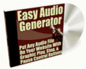 Thumbnail Easy Audio Generator Pro Software