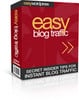 Thumbnail Easy Blog Traffic - Interviews reveal how to get blog traffi