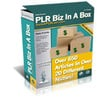 Thumbnail PLR Biz In A Box