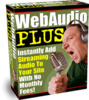 Thumbnail Web Audio Plus - Instantly Add Streaming Audio To Your Site