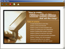 Thumbnail How to create killer mini sites that sell like crazy!