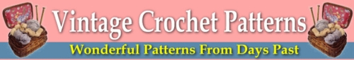 Pay for 20 Wonderful Vintage Crochet Patterns!