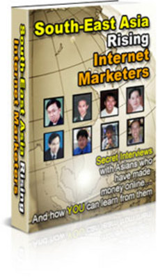Pay for South East Asian Rising Internet Marketers