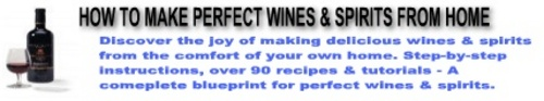 Pay for Make your own fine wine & spirits from home!