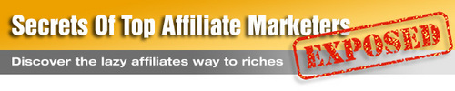 Pay for Secrets Of Top Affiliate Marketers