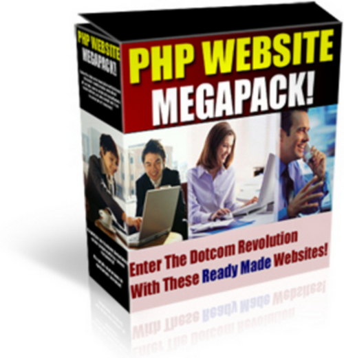 Pay for Php Website Scripts Megapack with Master Resell Rights