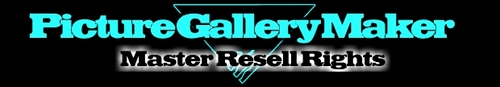 Pay for Picture Gallery Maker Software with resell rights
