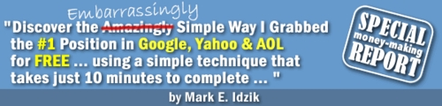 Pay for Simple Way I Grabbed a # 1 Ranking Spot On Google, Yahoo and AOL