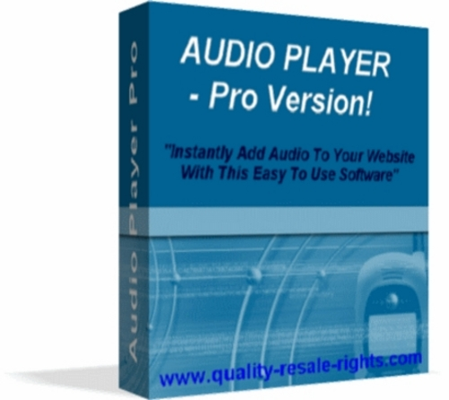 Pay for Audio Player Pro Software