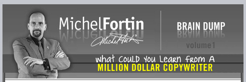 Pay for Michel Fortin Brain Dump