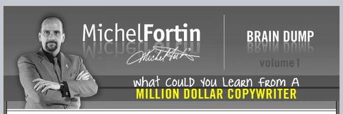 Pay for Michel Fortin Brain Dump