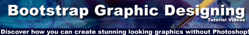 Pay for BootStrap Graphic Designing Tutorial Videos