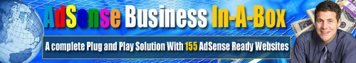 Pay for AdSense Business In-A-Box - 150 Adsense Ready Websites