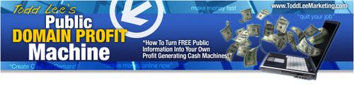 Pay for Public Domain Profit Machine