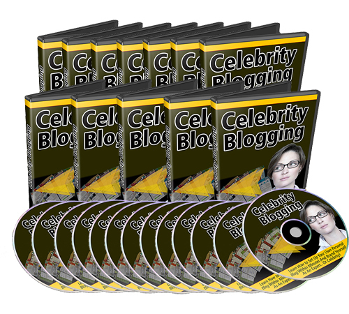 Pay for Set Of 12 Celebrity Blogging Videos