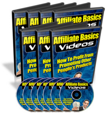 Pay for Affiliate Basics Videos - How To Earn From Promoting Other Peoples Products