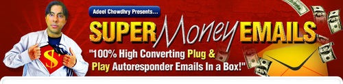 Pay for Super Money Emails - Plug & Play Autoresponder Emails In A Box