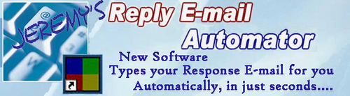 Pay for Reply E-mail Automator - cut your E-mail support time down
