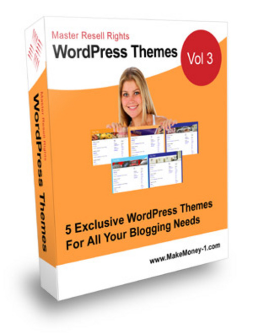 Pay for Exclusive Wordpress Themes Vol 3 - with Master Resell Rights
