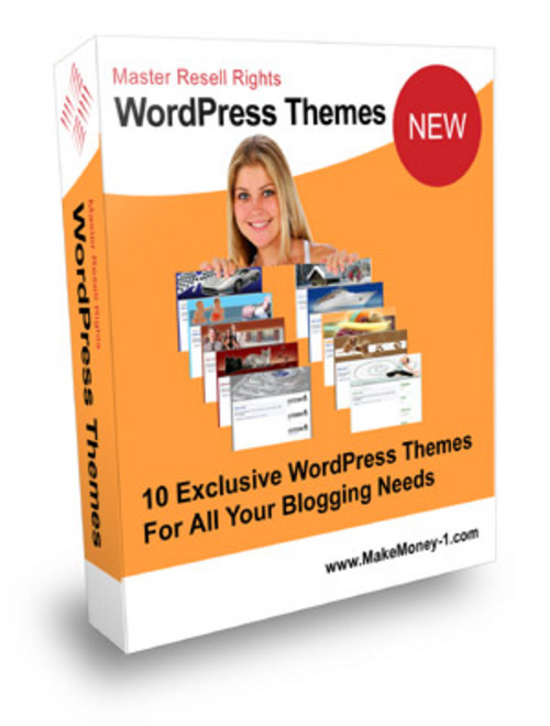 Pay for Exclusive Wordpress Themes with Master Resell Rights