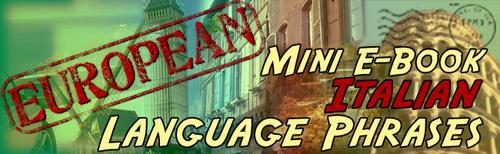 Pay for Italian Phrase Mini-Ebook