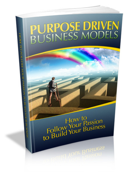 Pay for Purpose Driven Business Models