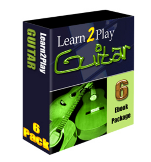 Pay for Learn To Play The Guitar Ebook Package