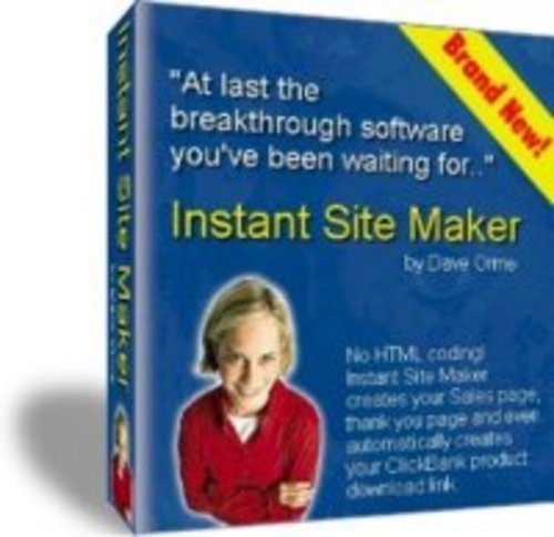 Pay for Instant Site Maker - Webpage Maker