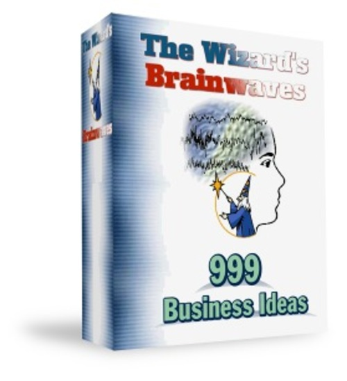 Pay for Wizard Brainwaves - 999 busines ideas