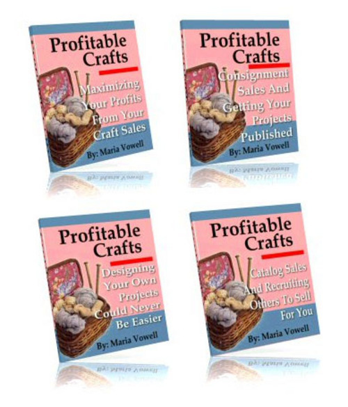 Pay for Four Volume Profitable Crafts Package