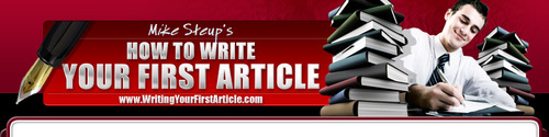 Pay for How to Write Your First Article