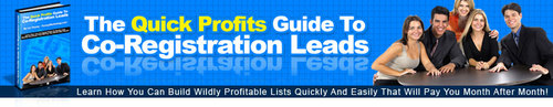 Pay for The Quick Profits Guide To Co-Registration Leads