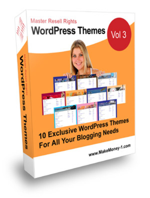Pay for Exclusive Wordpress Themes Vol. 3 - with Master Resell Right