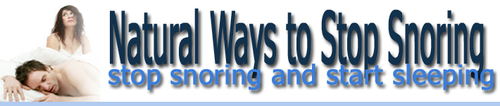 Pay for Natural Ways to Stop Snoring