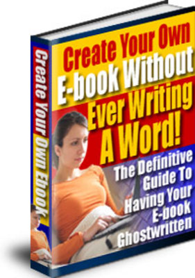Pay for Create Your Own E-book Without Ever Writing A Word