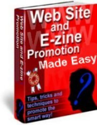 Pay for Web Site and Ezine Promotion Made Easy!