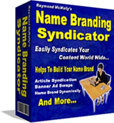 Pay for Raymond McNallys - Name Branding Syndictor