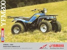 Thumbnail Yamaha YFM200 Moto-4 YFM 200 Service Repair Workshop Manual