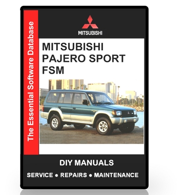 mitsubishi pajero sport challenger workshop manual download ma rh tradebit com 1998 Montero Sport Power Stearing Tank 1998 Montero Sport Wiring Diagram