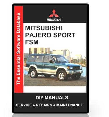 "Mitsubishi Shogun1999-06 factory workshop service manual sent as a /""Download/"""