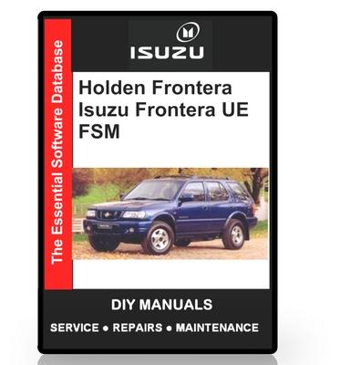 holden frontera workshop manual pdf