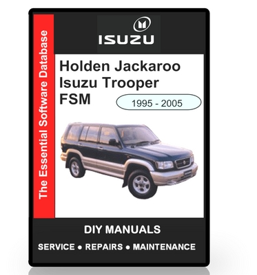 holden jackaroo manual daily instruction manual guides u2022 rh testingwordpress co Holden Rodeo Ute Holden Rodeo 2002