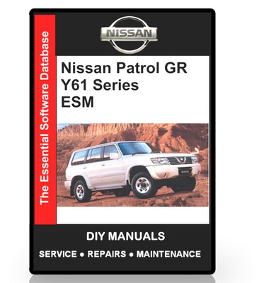 nissan patrol y61 service manual pdf free download