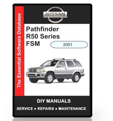 Pay for Nissan Pathfinder R50 Series Workshop Manual 2001