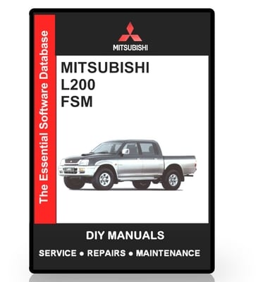 mitsubishi l200 series workshop manual 1992 2002 Samsung L200 Hyundai L200