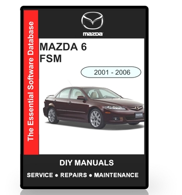 Pay for Mazda 6 Workshop Manual 2001 - 2006