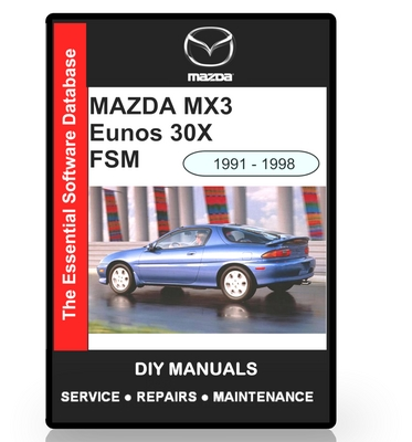 mazda mx3 eunos 30x workshop manual 1991 1998 download manuals rh tradebit com mazda mx 5 manual pdf mazda cx3 manual