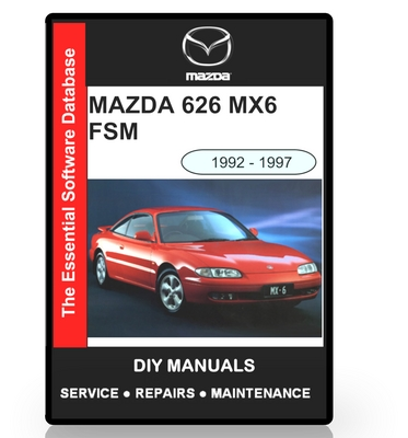 mazda 626 mx6 workshop manual 1992 1997 download manuals rh tradebit com mazda mx 6 workshop manual free download mazda 626 mx 6 service manual