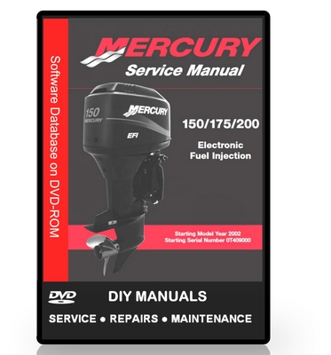 Mercury Outboard Workshop Manual 150 175 200hp Efi